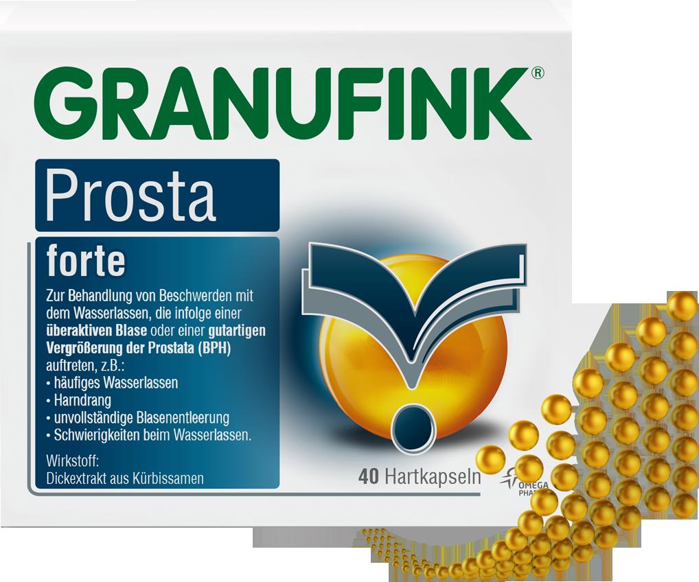 druck auf prostata