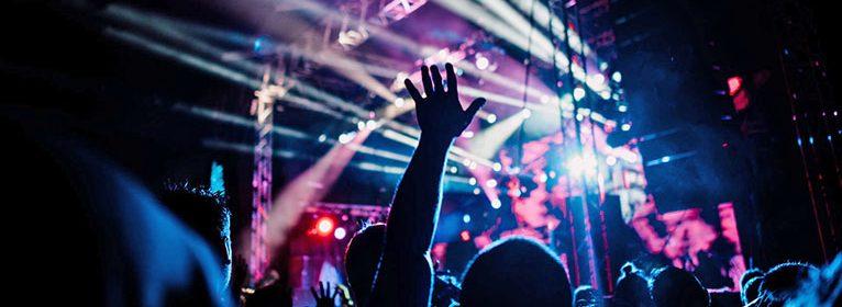 Konzert auf Musik-Festival