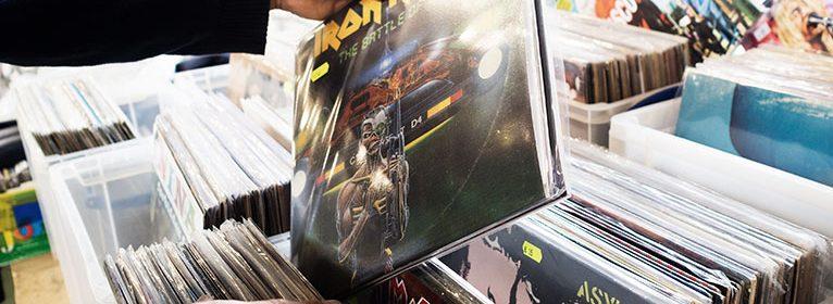 Gut sortierte Plattenläden erweisen sich oft als wahre Schatztruhe der Musikgeschichte.