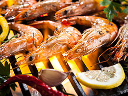 Meeresfrüchte entfalten ihr feines Aroma besonders gut in Kombination mit einer mediterranen Marinade.