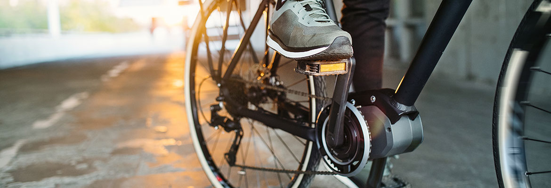 Elektro-Fahrrad mit Mittelmotor